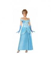 Blauwe prinsessen kleding voor dames trend