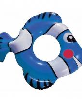 Blauwe vis zwemband 79 cm trend
