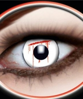 Bloedende ogen feestlenzen trend