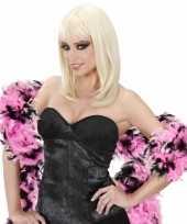 Boa zwart roze 180 cm trend
