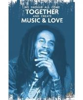 Bob marley muziek poster 61 x 91 cm trend