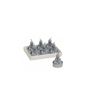 Boeddha theelichtje zilver trend