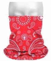 Boeren zakdoekprint hoofdband trend