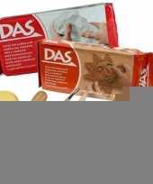 Boetseer basis pakket met klei en gereedschap 10 delig trend