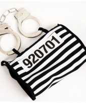 Boeven handtasje met handboeien trend