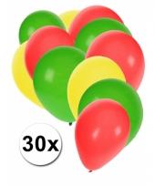 Boliviaanse feest ballonnen 30 st trend