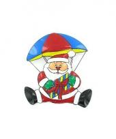 Bord kerstman aan parachute trend