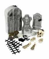 Bouw je eigen kerkhof 24 delige set trend