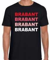 Brabant holland t-shirt zwart voor heren trend