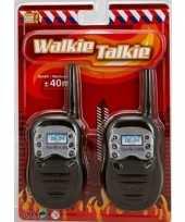 Brandweer walkie talkie speelgoed voor kinderen trend