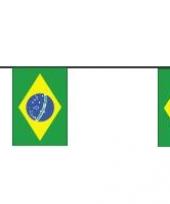 Braziliaanse vlaggetjes 4 meter trend