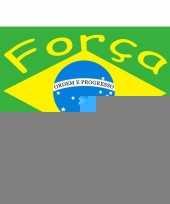 Braziliaanse voetbal vlag trend