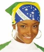 Brazilie bandana trend