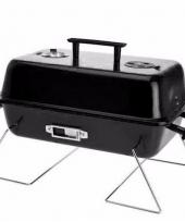 Briketten barbecue zwart 28 cm rechthoekig trend