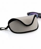 Brillen bescherm hoesje grijs trend