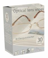 Brillen poetsdoekjes 30 stuks trend