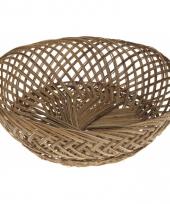 Broodmand van kokosnootblad 37 cm trend