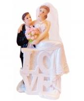 Bruidspaar poppetjes love type 2 trend