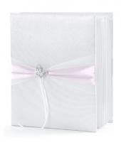 Bruiloft gastenboek met vlinder trend