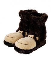 Bruine aapjes sokken trend