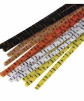 Buigbare pijpenragers 30 cm 25 stuks trend