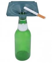 Buiten asbak voor flessenhals 10 cm trend 10088534
