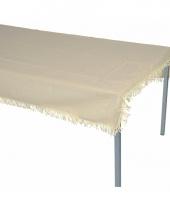 Buiten tafelkleed beige 180 cm trend