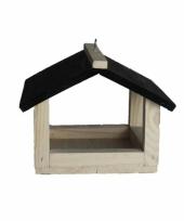 Buitenvogels voeren ophangbare voederhuisje 23 cm trend