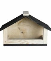 Buitenvogels voeren voederhuisje 28 cm trend