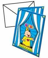 Bumba verjaardags partijtje kaarten trend 10145178