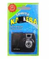 Camera met waterspuit trend