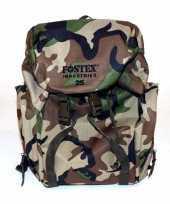 Camouflage rugzak 25 liter trend