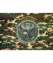 Camouflage vlag 101st airborne division 150 x 90 cm trend