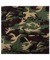 Camouflage woodland bandana trend