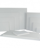 Canvas schildersdoek 40 x 50 cm trend