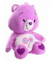 Care bear knuffel licht paars 47 cm trend