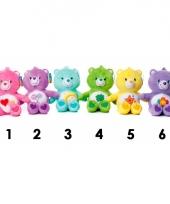 Care bear knuffel roze 25 cm trend