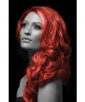 Carnaval haarverf rood trend
