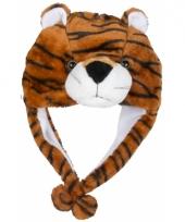 Carnaval tijger muts kids trend