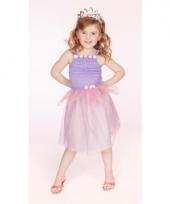 Carnaval verkleedkleding prinses lila meisjes trend