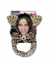 Carnaval verkleedset luipaardje voor volwassenen trend