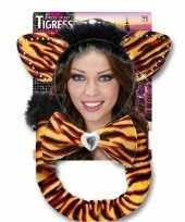 Carnaval verkleedset tijgerrin voor volwassenen trend
