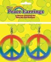 Carnavals hippie oorbellen trend