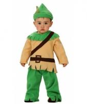 Carnavals kostuum robin hood voor babies trend