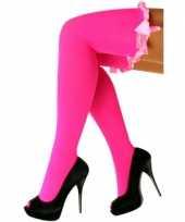 Carnavalskleding fluor roze dames trend