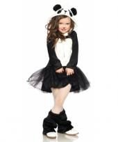 Carnavalskleding panda jurkje voor meisjes trend