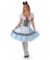 Carnavalskostuum alice voor dames trend