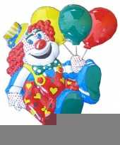 Carnavalsversiering clown 50 cm trend