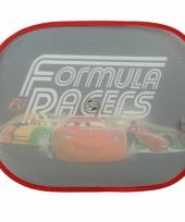 Cars formula racers auto zonnebeschermers 2 st trend