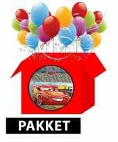Cars kinderfeestje pakket trend